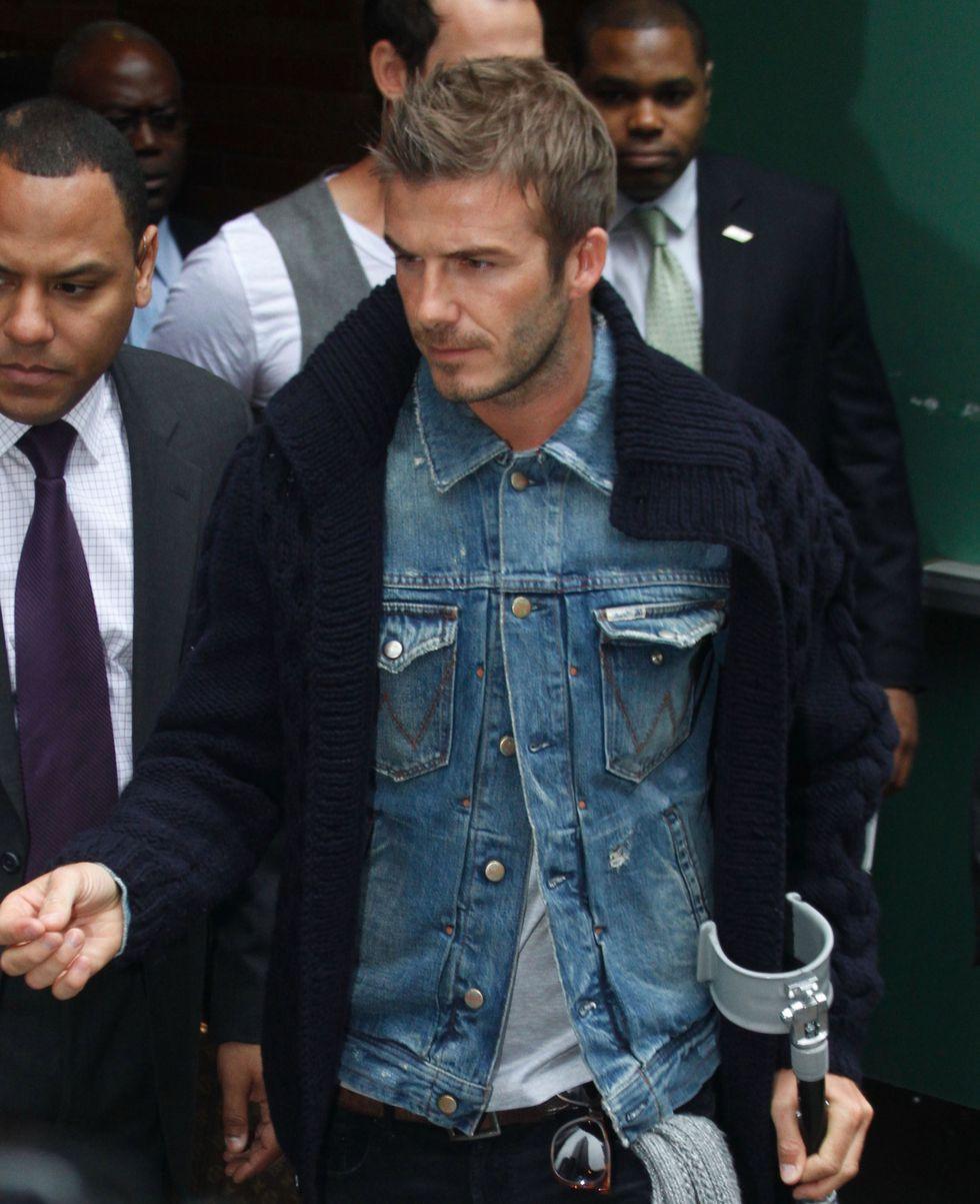 David Beckham Trucker Jacket
