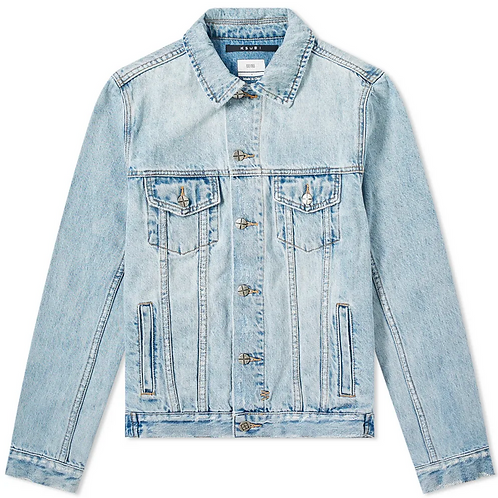 Ksubi Classic Karma Denim Trucker Jacket