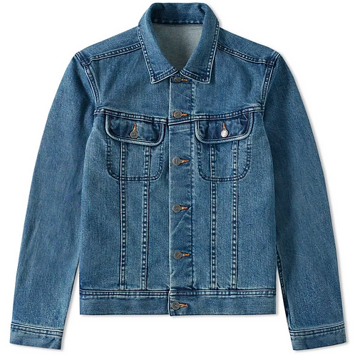A.P.C. U.S. Jean Trucker Jacket