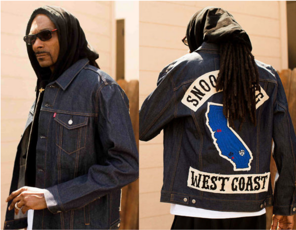 Snoop Dog Trucker Jacket