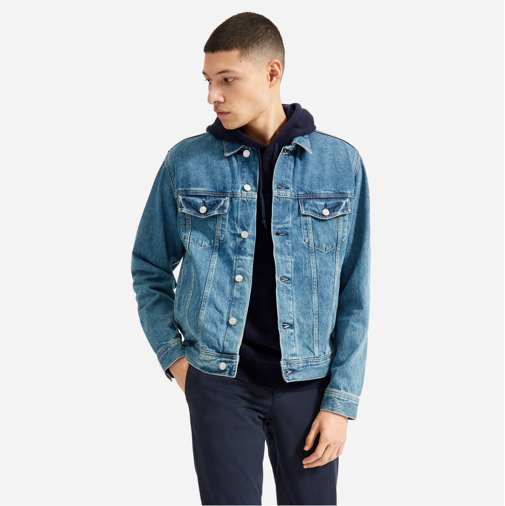 Everlane Trucker Jacket