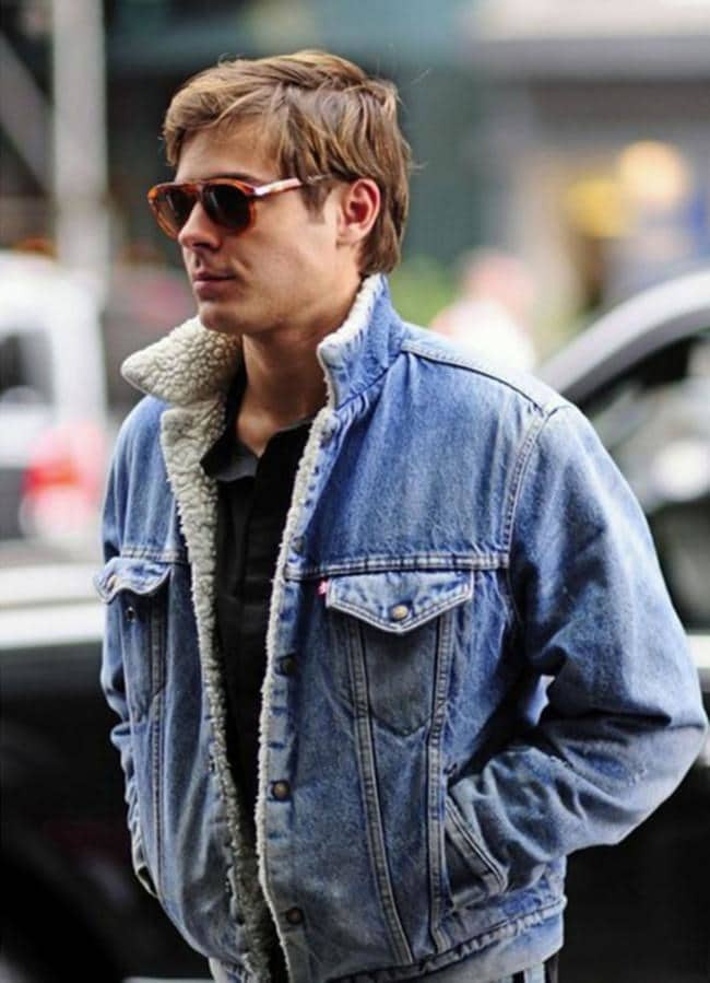 Zac Effron Trucker Jacket