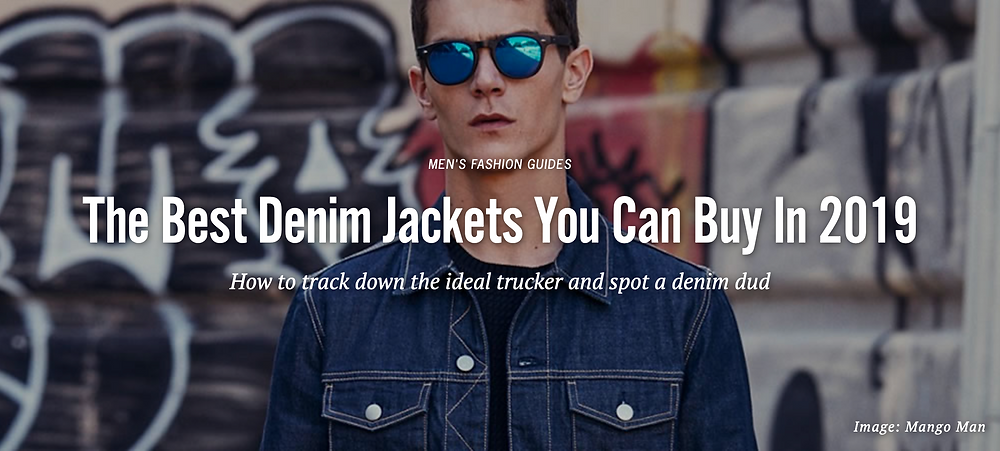 Trucker Jacket Model