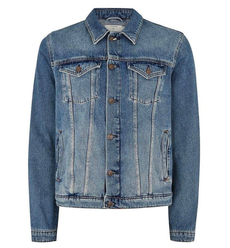 Blue Trucker Jacket