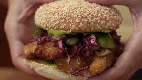 Spicy Sesame Chicken Sandwich