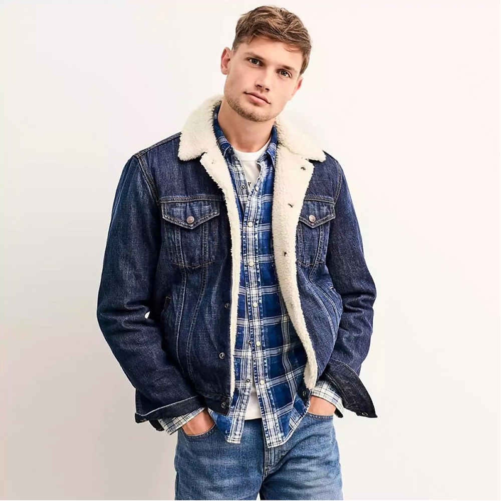 Model Sherpa Trucker Jacket
