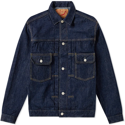 orSlow Selvedge Indigo Denim Trucker Jacket
