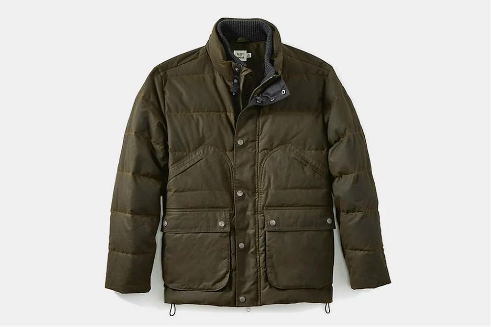 Flint and Tinder Waxed Field Jacket
