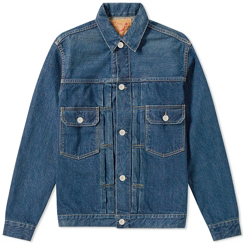 orSlow Selvedge Denim Trucker Jacket