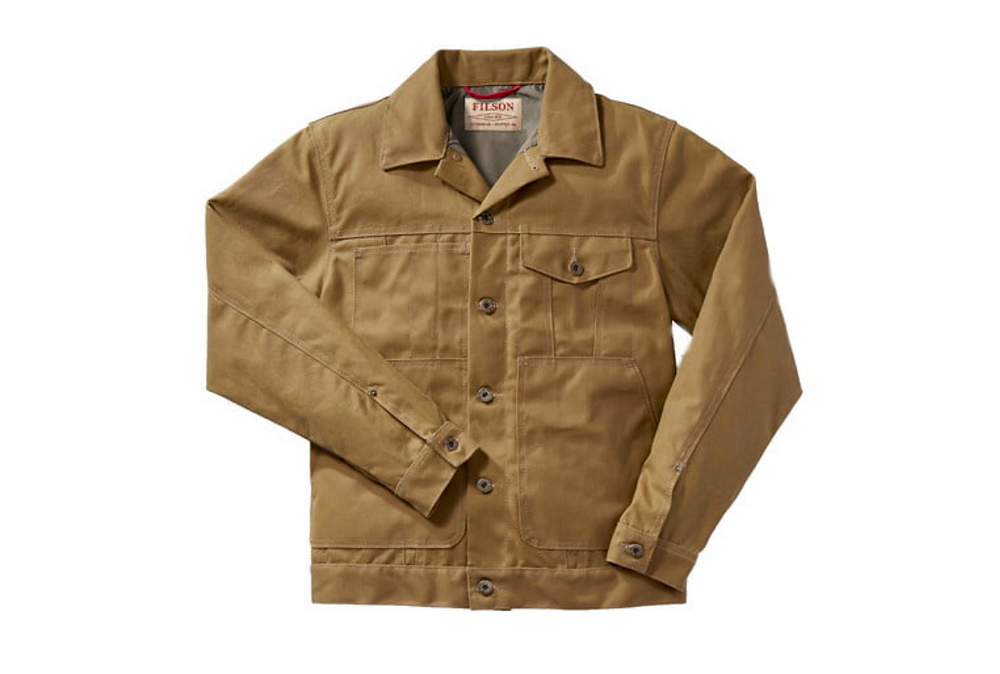 Filson Trucker Jacket Tin Cloth