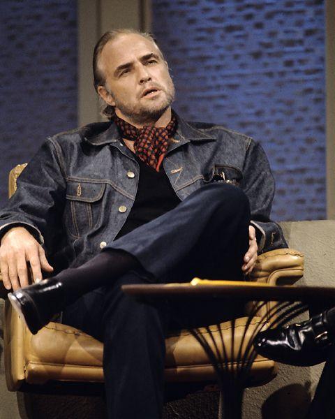 Marlo Brando Trucker Jacket
