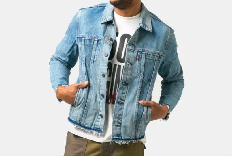 Levi Altered Trucker Jacket