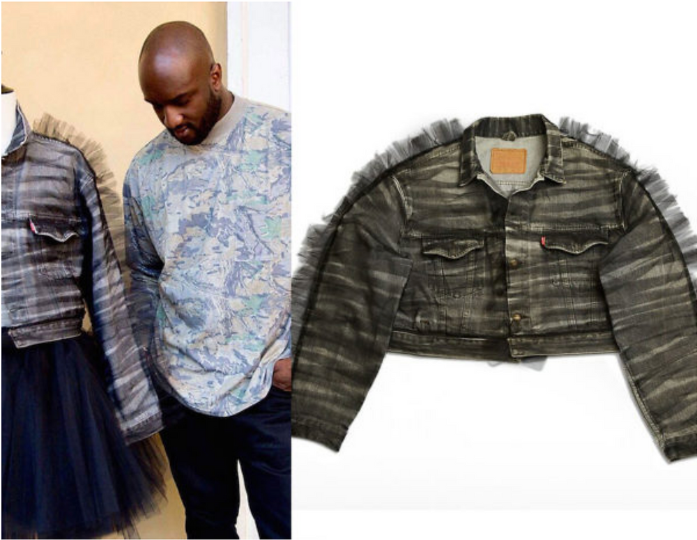 Virgil Abloh Trucker Jacket