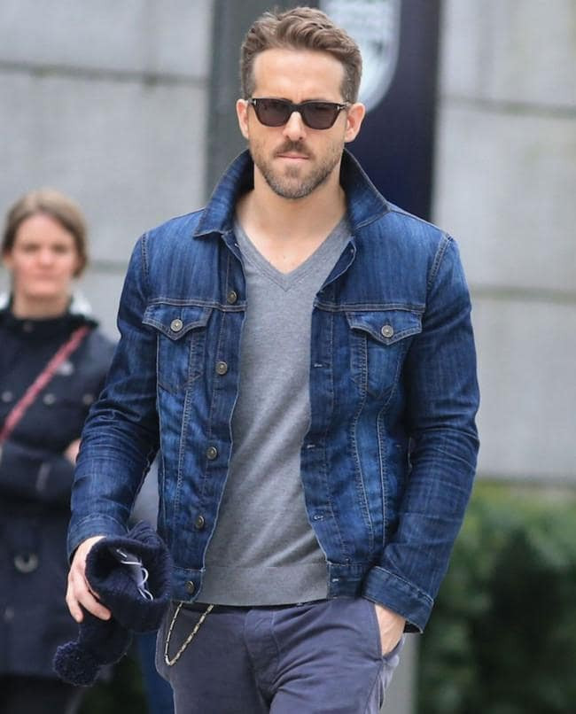 Ryan Reynolds Trucker Jacket