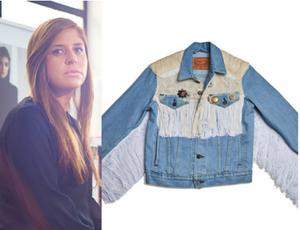 Lorena Saravia Trucker Jacket