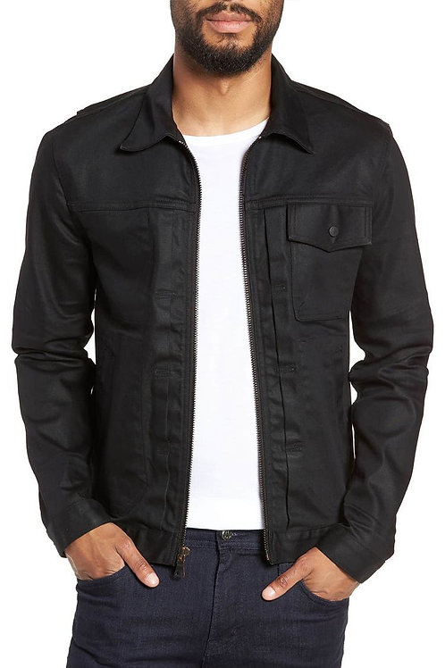 Hudson Zip Denim Trucker Jacket