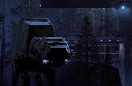 Inside the All Terrain Armored Transport (AT-AT)