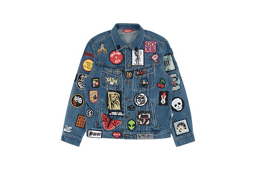 Supreme NYC: Denim Trucker Patches