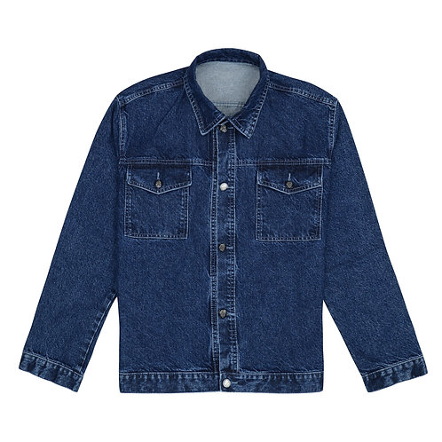 Heavy D Dark Wash Trucker Jacket