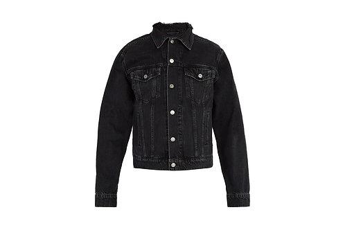Balenciaga Distressed Trucker Jacket