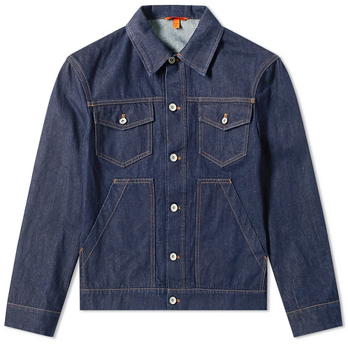 Barena Denim Trucker Jacket