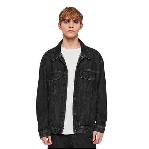 All Saints Trucker, Dark Wash