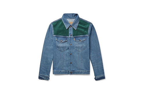 Levi's Vintage Corduroy Paneled Trucker Jacket