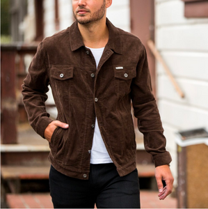Model in Trucker Jackets 5