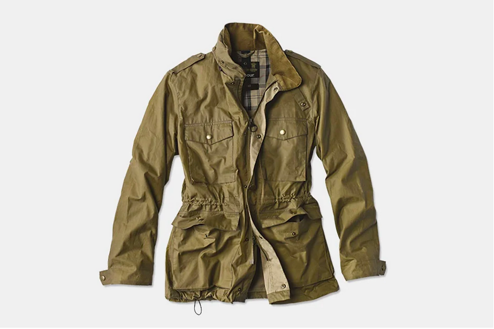 Barbour Lightweight Orel Waxed Jacket