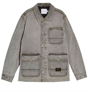 Quilted Trucker Jacket
