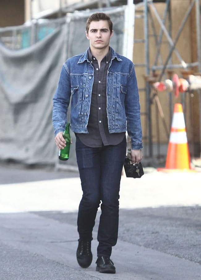 Dave Franco Trucker Jacket