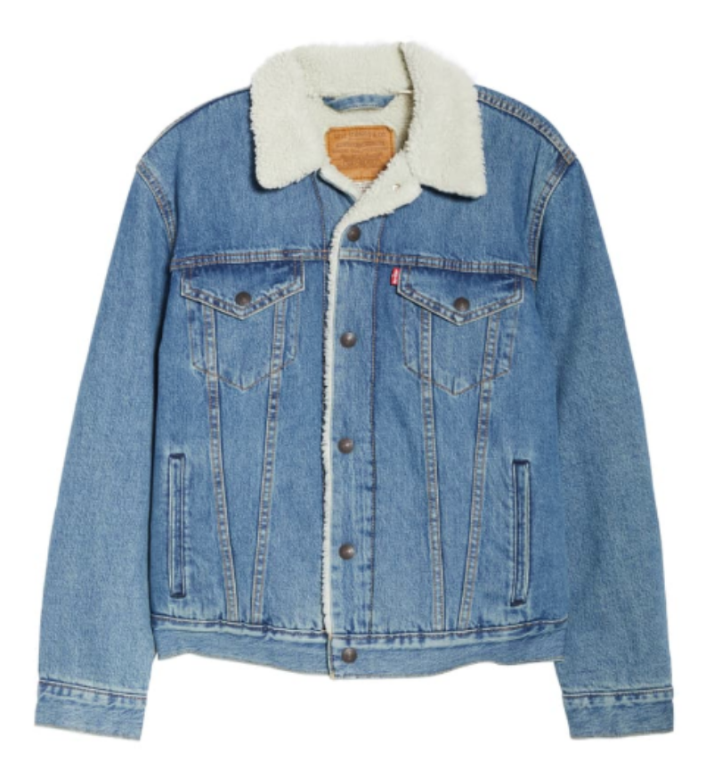 Levi's Shearling Trucker Jacket