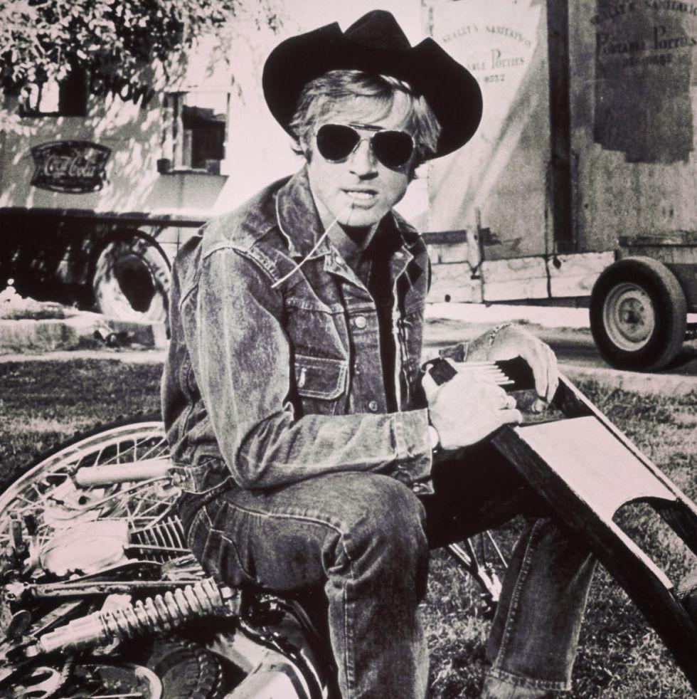 Robert Redford Trucker Jacket