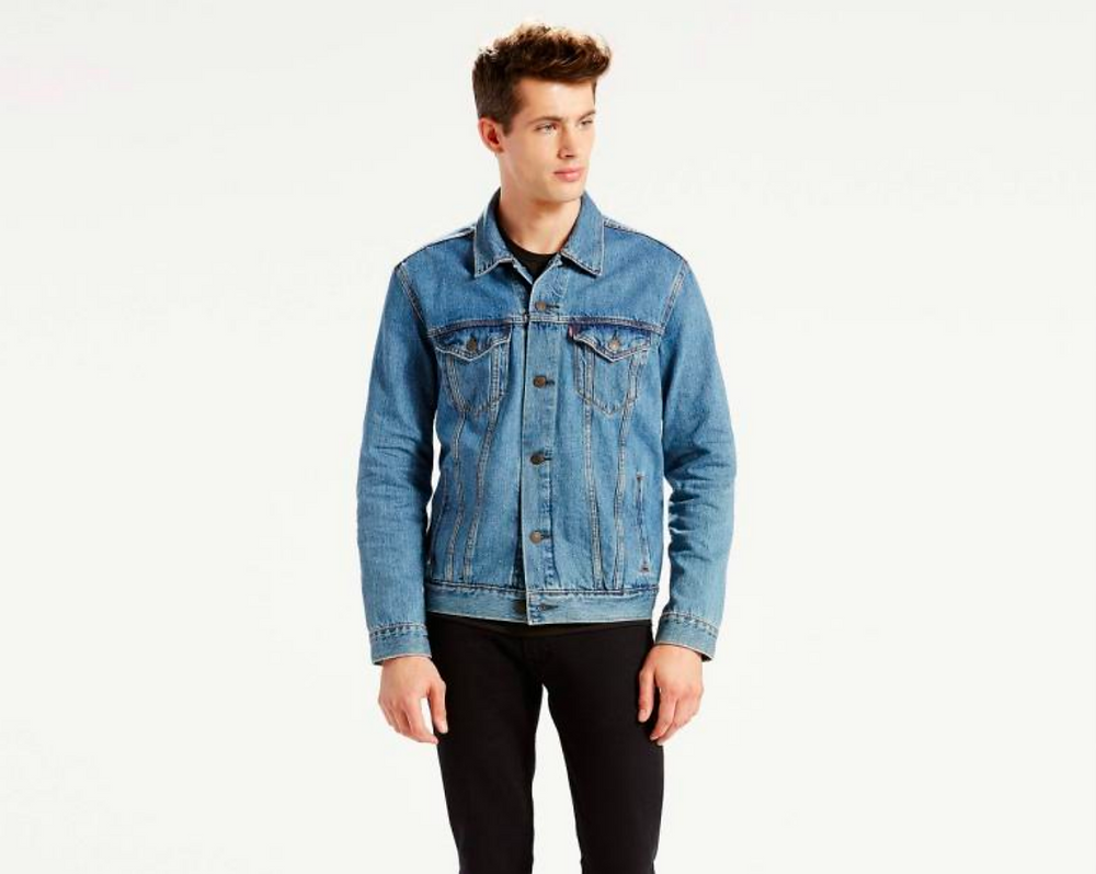 Models in Trucker Jackets 8