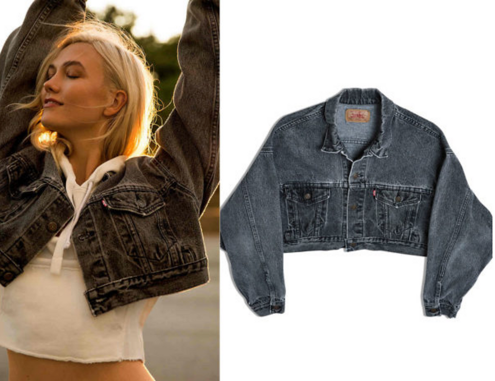 Karlie Kloss Trucker Jacket
