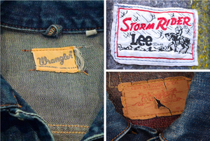 Vintage Trucker Jacket Labels