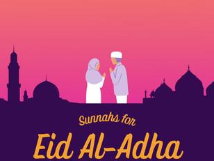 Sunnahs for Eid Al-Adha