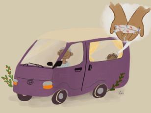Old Purple Van