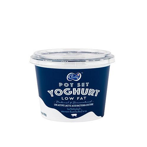 Set Yoghurt Low Fat (โยเกิร์ตไขมันต่ำ ชนิดคงตัว) 500g