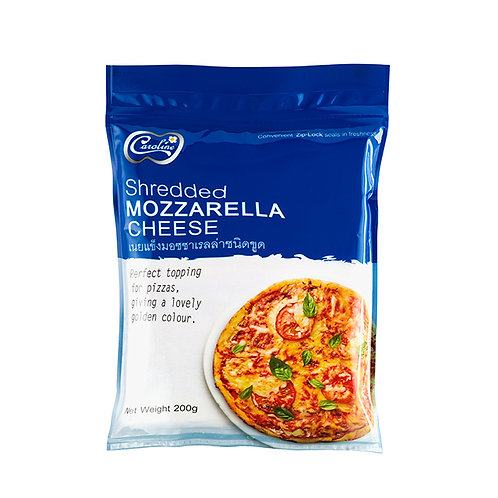 Shredded Mozzarella Cheese (เนยแข็งมอซซาเรลล่า ชนิดขูด) 200g