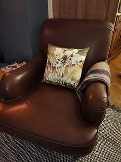 Customers chair