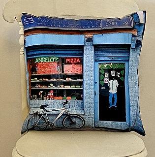 Vegan suede cushion Vintage range Marcellas