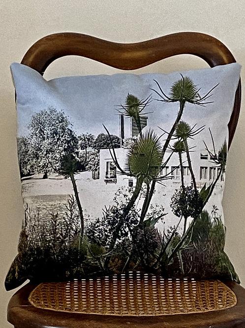 Lakeside cushion Vegan suede