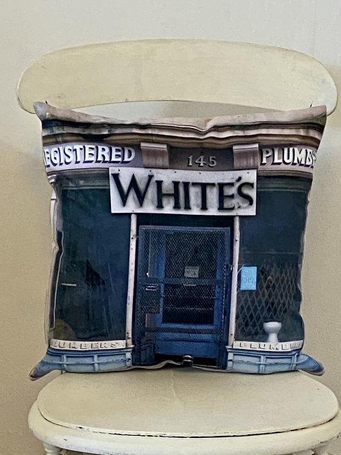 Vegan suede cushion Vintage range Whites Plumbers