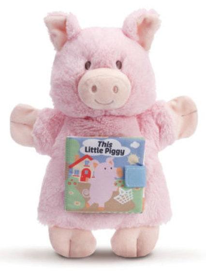 This Little Piggy Puppet Book