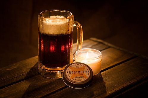 Root Beer Candle