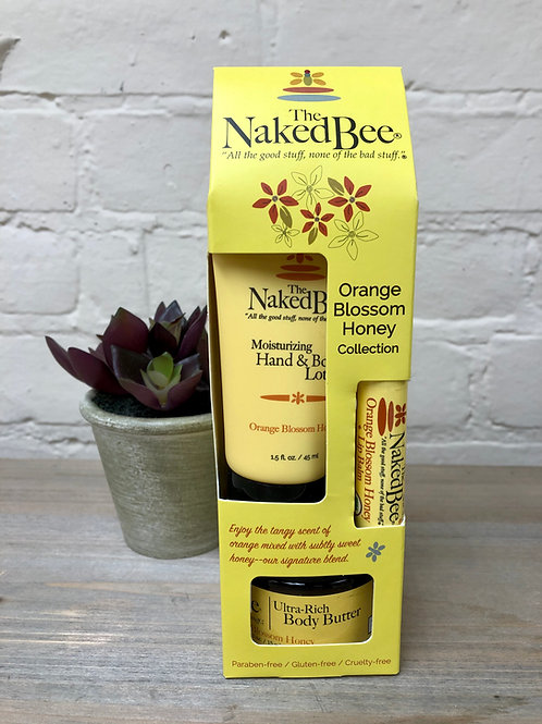 Naked Bee Orange Blossom & Honey Collection