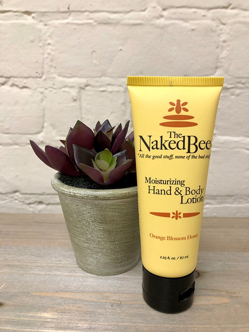 Naked Bee Orange Blossom & Honey Hand and Body Lotion 2.25oz