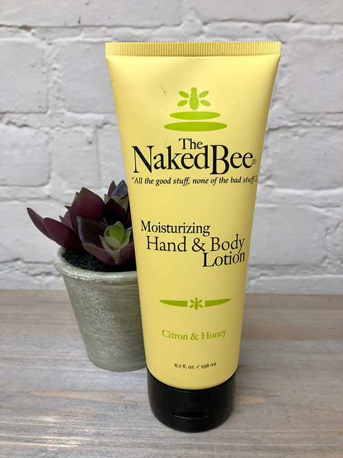 Naked Bee Citron & Honey Hand and Body Lotion 6.7oz