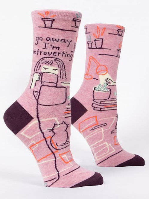 I'm Introverting Socks